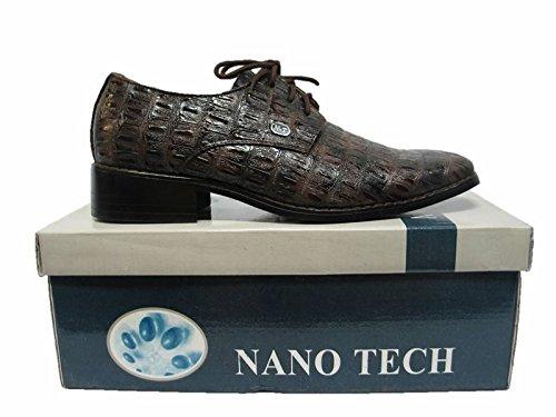 Scarpe Da Uomo Scarpe Eleganti Tutte Le Occasioni Dario Di Brown Nanotech