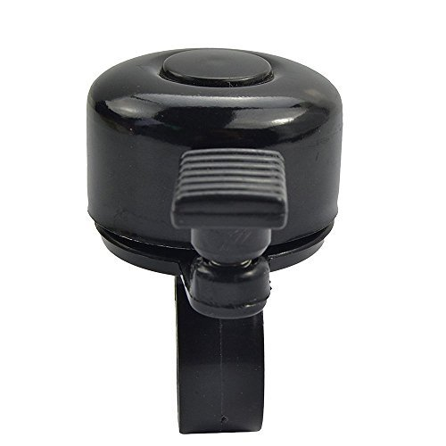 Bargain House Black Bike Bell Bicycle Bell Ring Horn Adults Invisible Bicycle Bell