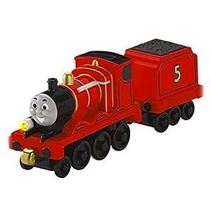 Fisher-Price - Thomas y sus amigos - Locomotoras grandes luces y sonidos James (Mattel)