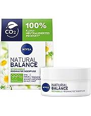 Nivea Natural Balance Rijke Dagverzorging voor Droge en Gevoelige Huid, met Biologische Kamille, Jojoba- en Amandelolie, 50 ml