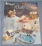 Victorian Winter Village Plastic canvas Needlecraft Shop (933355)