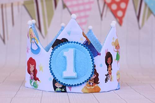 Corona cumpleaños niña princesa decoración de fiesta ...