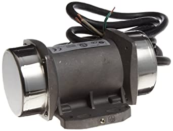 OLI Vibrator MVE.0021.36.115 Electric Vibrator Motor, Single Phase, 2 Poles, 3,600 RPM, 60 Hz, 115 Volt, 63.93 Lb Output Force