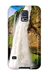 New Snap-on ZippyDoritEduard Skin Case Cover Compatible With Galaxy S5- Waterfall