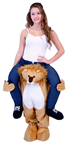 Piggyback Ride On Lion Costume (Plus) ()