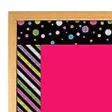 Colorful Chalkboard Bulletin Board Border