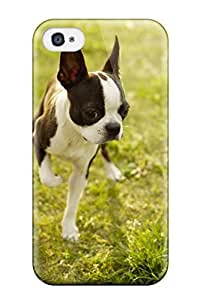 6556697K27273175 Special Design Back Boston Terrier Dog Phone Case Cover For Iphone 4/4s WANGJING JINDA