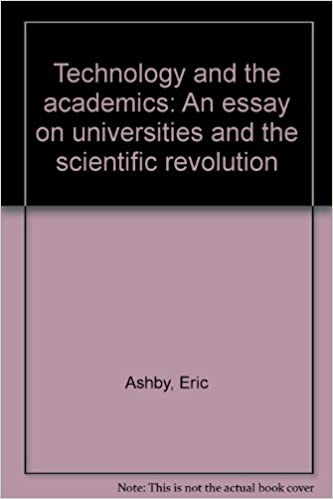 Science Essay Example Technology And The Academics An Essay On Universities And The Scientific  Revolution Ashby E Amazoncom Books Paper Vs Essay also Sample Essays For High School Students Technology And The Academics An Essay On Universities And The  High School Years Essay