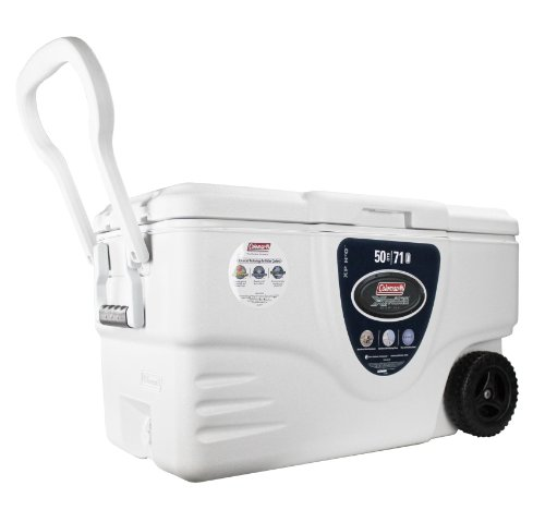 The Ultimate Cooler : Coleman quart wheeled ultimate xtreme marine cooler