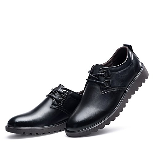 Feidaeu negro Hombre negro Zapatos Zapatos Feidaeu Hombre wZqYtHRw
