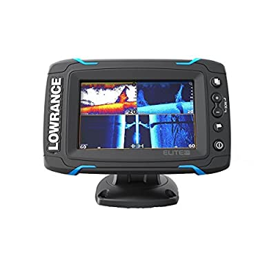 Lowrance ELITE-5 TI Med/High/ Downscan Fishfinder (Certified Refurbished)