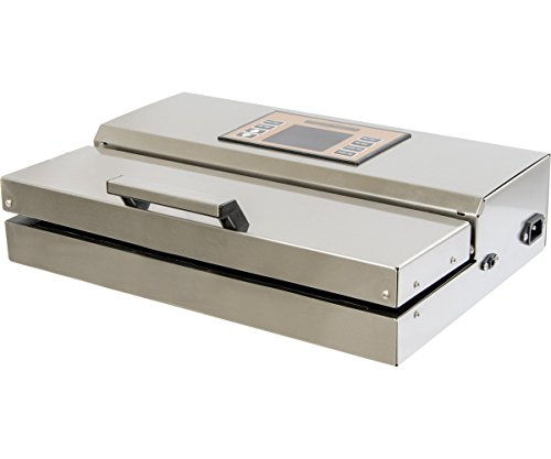 Hydrofarm Private Reserve Commercial Produce and Food Vacuum Sealer W/ 10 Free Bags