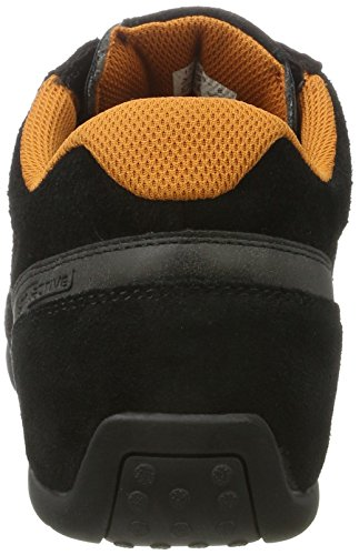 Cammello Attivo Herren Space 29 Low-top Schwarz (nero / Dk.grey 01)
