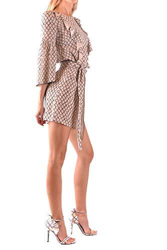 Viscosa Bianco Mcbi36156 Donna Franchi Vestito Elisabetta wz6Z1Z
