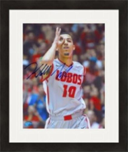 New Mexico Lobos Photograph (Kendall Williams Signed Photo - 8x10 New Mexico Lobos) #2 Matted & Framed - Autographed NFL Photos)