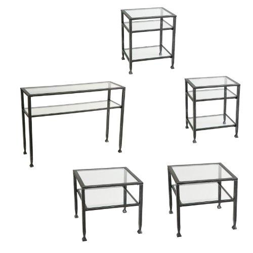 Southern Enterprises Metal Shadow Box Table Collection