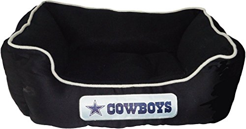 Pets First NFL Dallas Cowboys Pet Bed