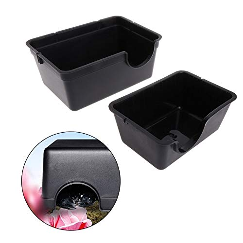 (Ship Aquarium - Reptile Box Hiding Case Hole Water Feeder Spider Turtle Snake Centipede Size S - Spider Turtle House Tool Terrarium Scan Konnwei Universal Diagnostic Automotive Insect Viecar )