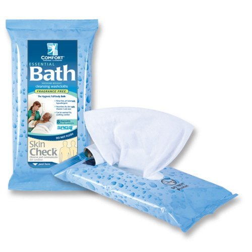 Fragrance free Essential Comfort Cleansing Washcloths product image