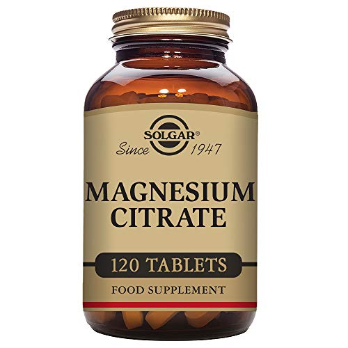 Solgar Magnesium Citrate, Highly Absorbable, Promotes Healthy Bones,...