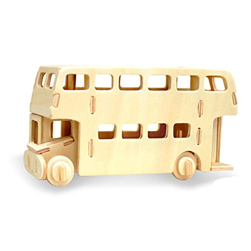 3D Jigsaw Puzzle Wooden Stereo Board Assembly Model Children's Educational Toys as Gifts (Halloween Van Gogh)