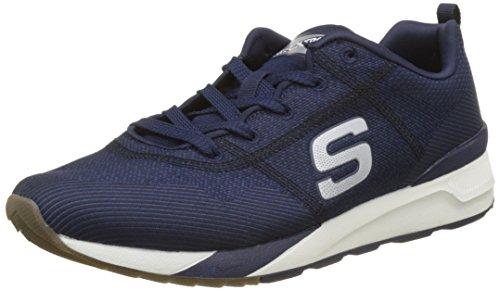 Skechers OG 90-Cozine, Chaussures de Running Homme, Noir/Blanc Bleu (Navy/Black)