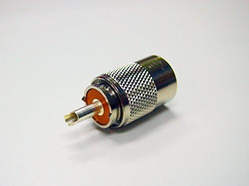 コメット株式会社 COMET MP-5 同軸コネクター 5D-2V、5D-FB等用