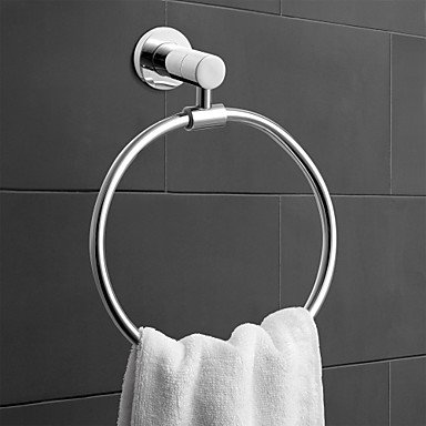 Generic Bathroom Accessories Solid Brass Towel Ring (0640-3307) #00087078 B01M25A2H5