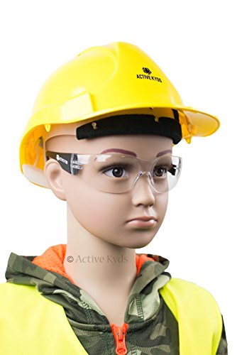 6-Pack Active Kyds Safety Glasses for Kids Construction Costumes or Protective Eyewear with Microfiber Pouches by Active Kyds (Image #3)