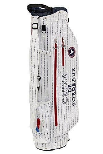 恐ろしいです割合くすぐったいクランク CLUNK 日本正規品 メンズ レディース キャディバッグ スタンド式キャディバッグ mc8-spcb (ホワイト(OW))
