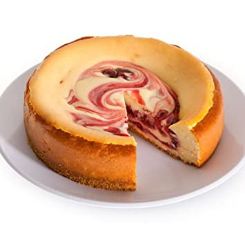 Strawberry Swirl Cheesecake - 6 Inch