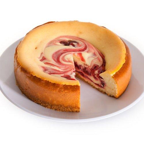 Strawberry Swirl Cheesecake - 6 Inch