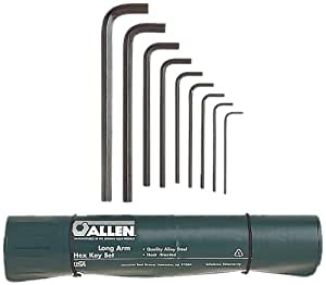 Allen 56018 Long Arm Metric Hex Key Set, 9-Piece