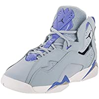 363cbea52e2741 Jordan Nike Kids True Flight GG Lt Armory Blue Midnight Navy Basketball Shoe  6.5 Kids