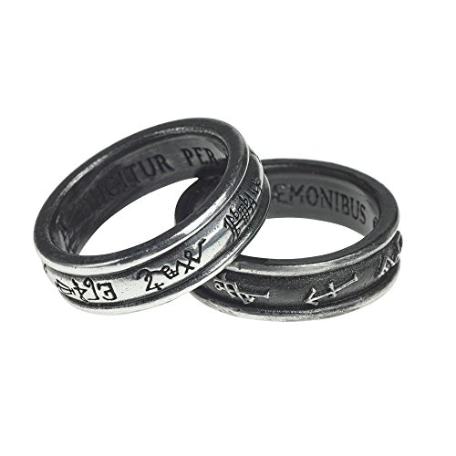 Angel Black Ring - 2