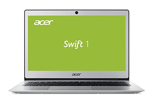 Acer Swift 1 SF113-31-P5TS 33,8 cm (13,3 Zoll Full-HD IPS matt) Notebook (Intel Pentium N4200, 4GB RAM, 128GB SSD, Intel HD Graphics 505, Win 10 Home) silber