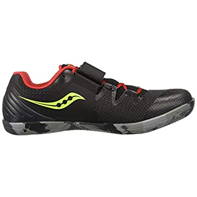 Saucony Men's Unleash SD2 Track and Field Shoe black/red | Track & Field & Cross Country