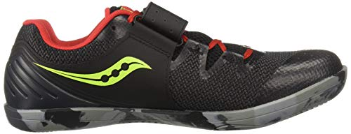 Saucony Unleash SD 2 Unisex 9 Black | Red by Saucony (Image #7)