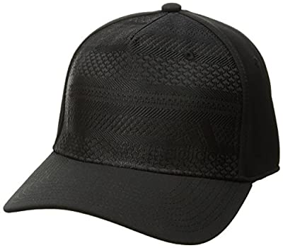 adidas Men's Weave Stretch Fit Cap by Agron Hats & Accessories