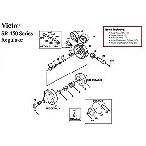 SR450 And VGS450 Repair Kit