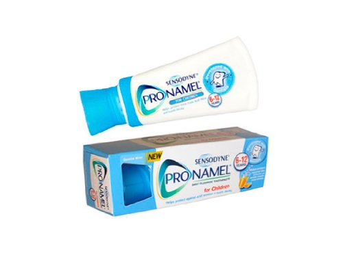 (Pack of 4) Sensodyne Pronamel for Children Kids Daily Fluoride Toothpaste 6-12 Years