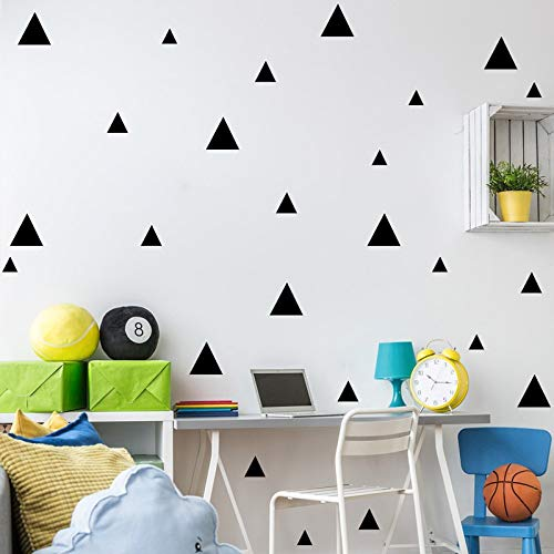 1 Set Tofok Triangle Wall Sticker Vinyl Wallpaper