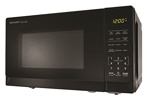 Sharp Microwaves ZSMC0710BB Sharp 700W Countertop Microwave Oven, 0.7 Cubic Foot, Black by Sharp (Image #2)