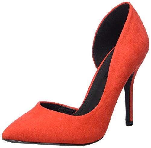 Blink BL 698 - zapatos de tacón cerrados de material sintético mujer Rojo - Rot (31 Red)