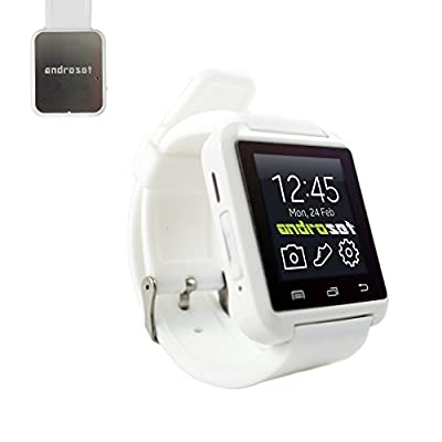 ANDROSET Universal Smartwatch for Android/iOS Touch Screen Smart Phone
