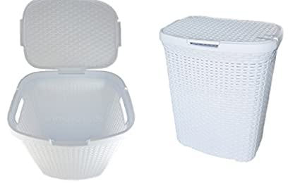 Diseño de cesta para la ropa sucia cesto para la ropa sucia de plástico con cesto