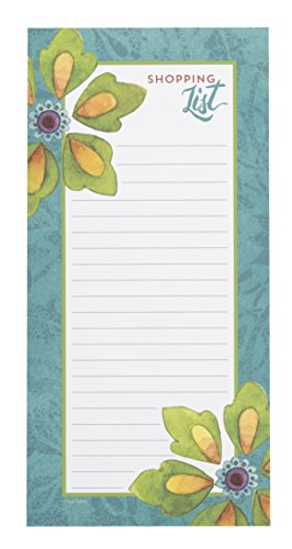 - C.R. Gibson Tunisian Sunset Magnetic Shopping List for Refrigerator, 75 Sheets, 4.5'' W x 9.25'' H