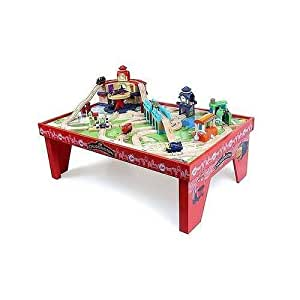 Amazon Com Chuggington Play Table With Assembled Play