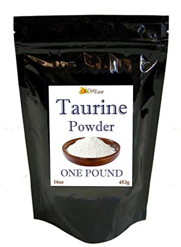 CurEase 100% Taurine Powder 1lb (16oz) 1000mg 453 Servings
