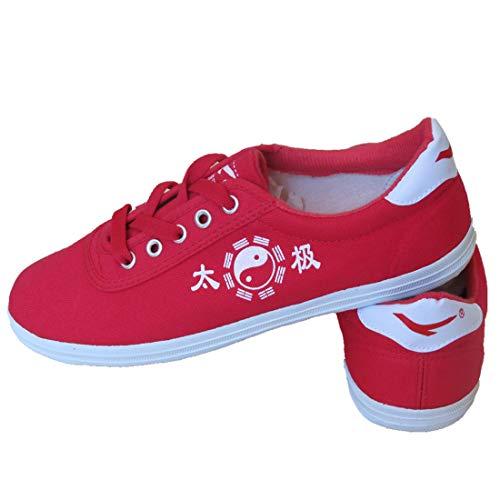 De domestics amp;hong Bas Cai En Tai Gch Arts Martiaux Tendon Chaussures Chi B Boeuf D'arts Tissu cHYqdqw5
